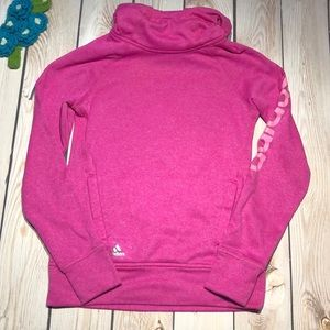 Adidas girl's climawarm pullover hoodie
